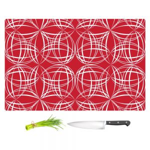 Artistic Kitchen Bar Cutting Boards | Sue Brown - Coco Lime Red