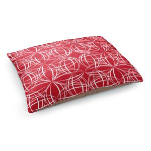 Decorative Dog Pet Beds | Sue Brown - Coco Lime Red