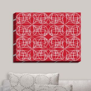 Decorative Canvas Wall Art | Sue Brown - Coco Lime Red