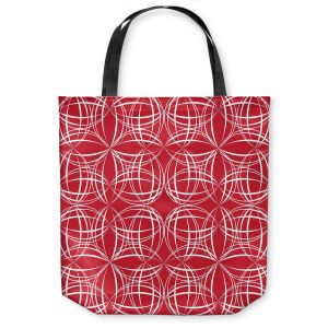 Unique Shoulder Bag Tote Bags | Sue Brown - Coco Lime Red