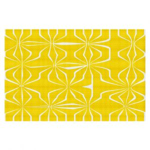 Decorative Floor Coverings | Sue Brown - Connect Yellow