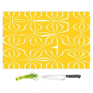 Artistic Kitchen Bar Cutting Boards | Sue Brown - Connect Yellow
