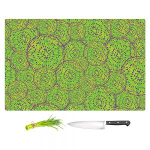 Artistic Kitchen Bar Cutting Boards | Sue Brown - Cycloseris Green