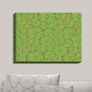 Decorative Canvas Wall Art | Sue Brown - Cycloseris Green