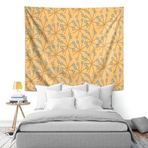 Artistic Wall Tapestry | Sue Brown - Dandiflying 1