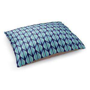 Decorative Dog Pet Beds | Sue Brown - Gervay Garden 2 | Pattern flower repetition abstract
