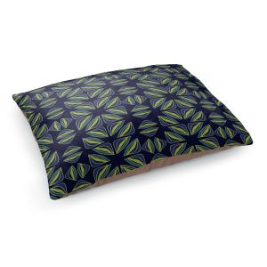 Decorative Dog Pet Beds   Sue Brown - Gervay Garden 7   Pattern flower repetition abstract