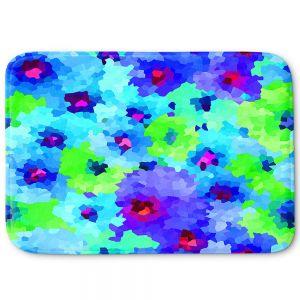 Decorative Bathroom Mats | Sue Brown - Glass Hibiscus