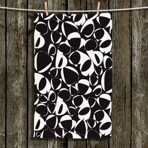 Unique Bathroom Towels | Sue Brown - Key Rings Black