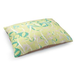 Decorative Dog Pet Beds | Sue Brown - Key Rings Green