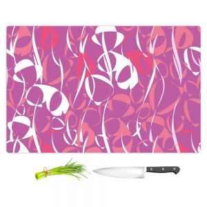 Artistic Kitchen Bar Cutting Boards | Sue Brown - Key Rings Pink