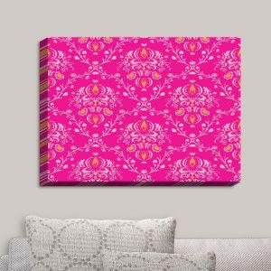Decorative Canvas Wall Art | Sue Brown - Madam Pink