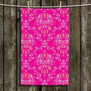 Unique Hanging Tea Towels | Sue Brown - Madam Pink | Patterns