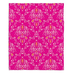 Decorative Fleece Throw Blankets | Sue Brown - Madam Pink