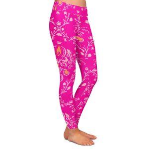 Casual Comfortable Leggings | Sue Brown - Madam Pink
