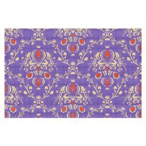 Decorative Floor Coverings | Sue Brown - Madam Purple