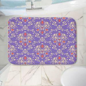 Decorative Bathroom Mats | Sue Brown - Madam Purple
