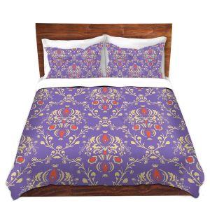 Artistic Duvet Covers and Shams Bedding | Sue Brown - Madam Purple