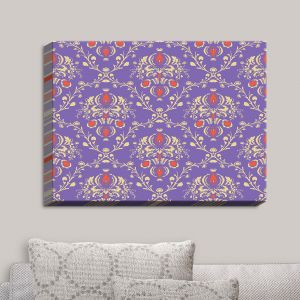 Decorative Canvas Wall Art | Sue Brown - Madam Purple