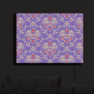 Nightlight Sconce Canvas Light | Sue Brown - Madam Purple | Patterns