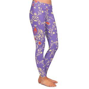 Casual Comfortable Leggings | Sue Brown - Madam Purple