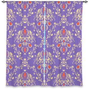 Decorative Window Treatments | Sue Brown - Madam Purple