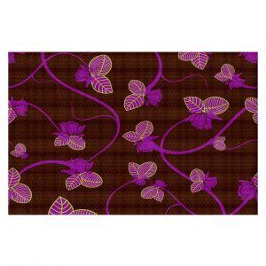 Decorative Floor Coverings | Sue Brown - Purple Vine