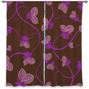 Decorative Window Treatments   Sue Brown - Purple Vine
