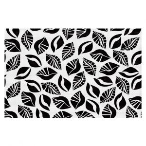 Decorative Floor Coverings | Sue Brown - Sponge Leaves