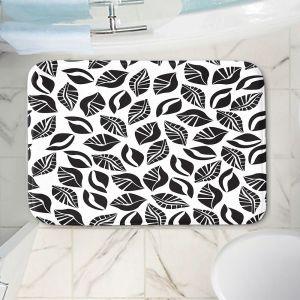 Decorative Bathroom Mats | Sue Brown - Sponge Leaves