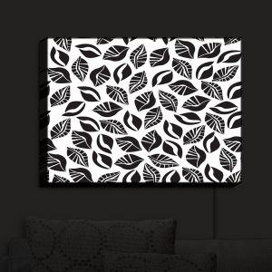 Nightlight Sconce Canvas Light | Sue Brown - Sponge Leaves | Patterns