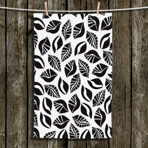 Unique Bathroom Towels | Sue Brown - Sponge Leaves