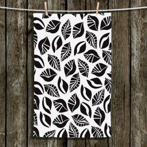 Unique Hanging Tea Towels | Sue Brown - Sponge Leaves | Patterns
