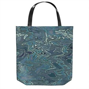 Unique Shoulder Bag Tote Bags | Susie Kunzelman - Agate 1 | Abstract pattern