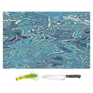 Artistic Kitchen Bar Cutting Boards | Susie Kunzelman - Agate 2 | Abstract pattern