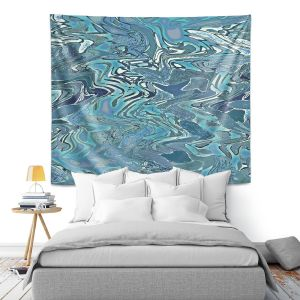 Artistic Wall Tapestry   Susie Kunzelman - Agate 2   Abstract pattern