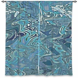 Decorative Window Treatments | Susie Kunzelman - Agate 2 | Abstract pattern