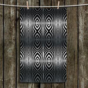 Unique Bathroom Towels | Susie Kunzelman - Animal Stripes | Abstract Pattern