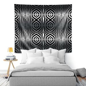 Artistic Wall Tapestry | Susie Kunzelman - Animal Stripes | Abstract Pattern