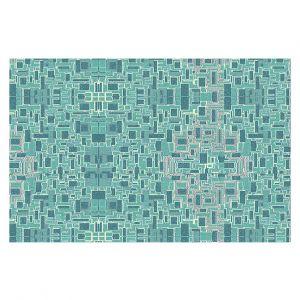 Decorative Floor Covering Mats | Susie Kunzelman - Aqua Tech | Pattern repetition mosaic