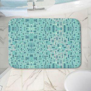 Decorative Bathroom Mats | Susie Kunzelman - Aqua Tech | Pattern repetition mosaic