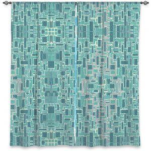 Decorative Window Treatments | Susie Kunzelman - Aqua Tech | Pattern repetition mosaic