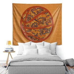 Artistic Wall Tapestry   Susie Kunzelman - Basketball Weave