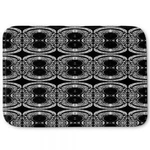 Decorative Bathroom Mats | Susie Kunzelman - Black Curtain II