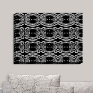 Decorative Canvas Wall Art | Susie Kunzelman - Black Curtain II