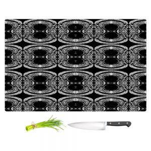 Artistic Kitchen Bar Cutting Boards | Susie Kunzelman - Black Curtain II