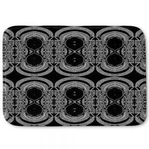 Decorative Bathroom Mats | Susie Kunzelman - Black Drape