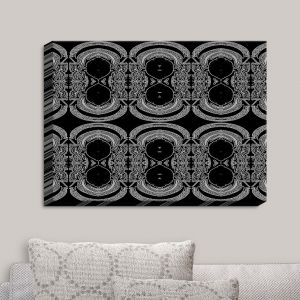 Decorative Canvas Wall Art | Susie Kunzelman - Black Drape