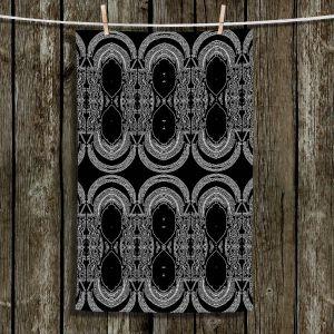 Unique Hanging Tea Towels | Susie Kunzelman - Black Drape | Patterns