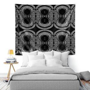 Artistic Wall Tapestry | Susie Kunzelman Black Drape